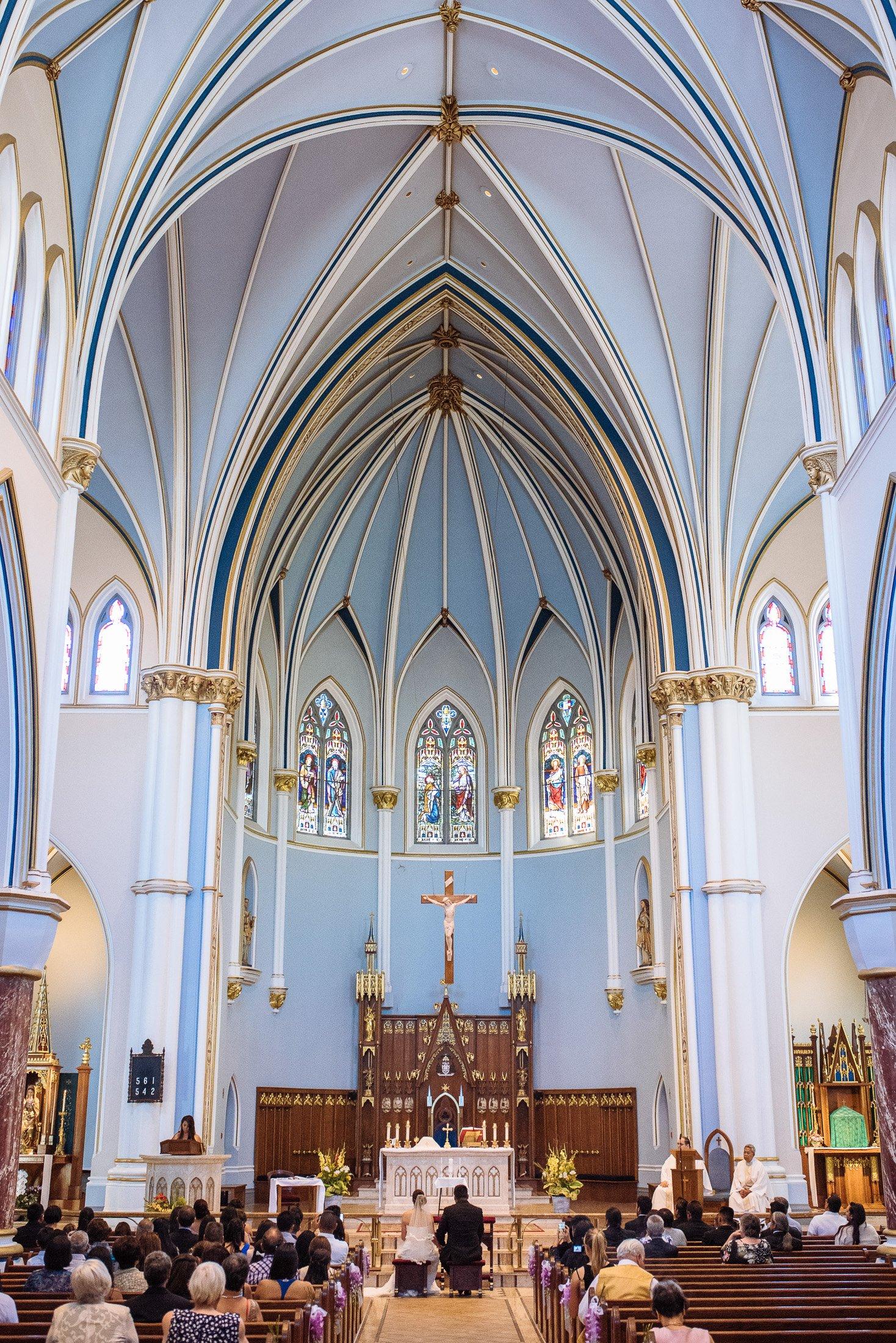Coast Plaza Hotel And Holy Rosary Cathedral Wedding