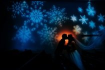 indoor winter wedding photos