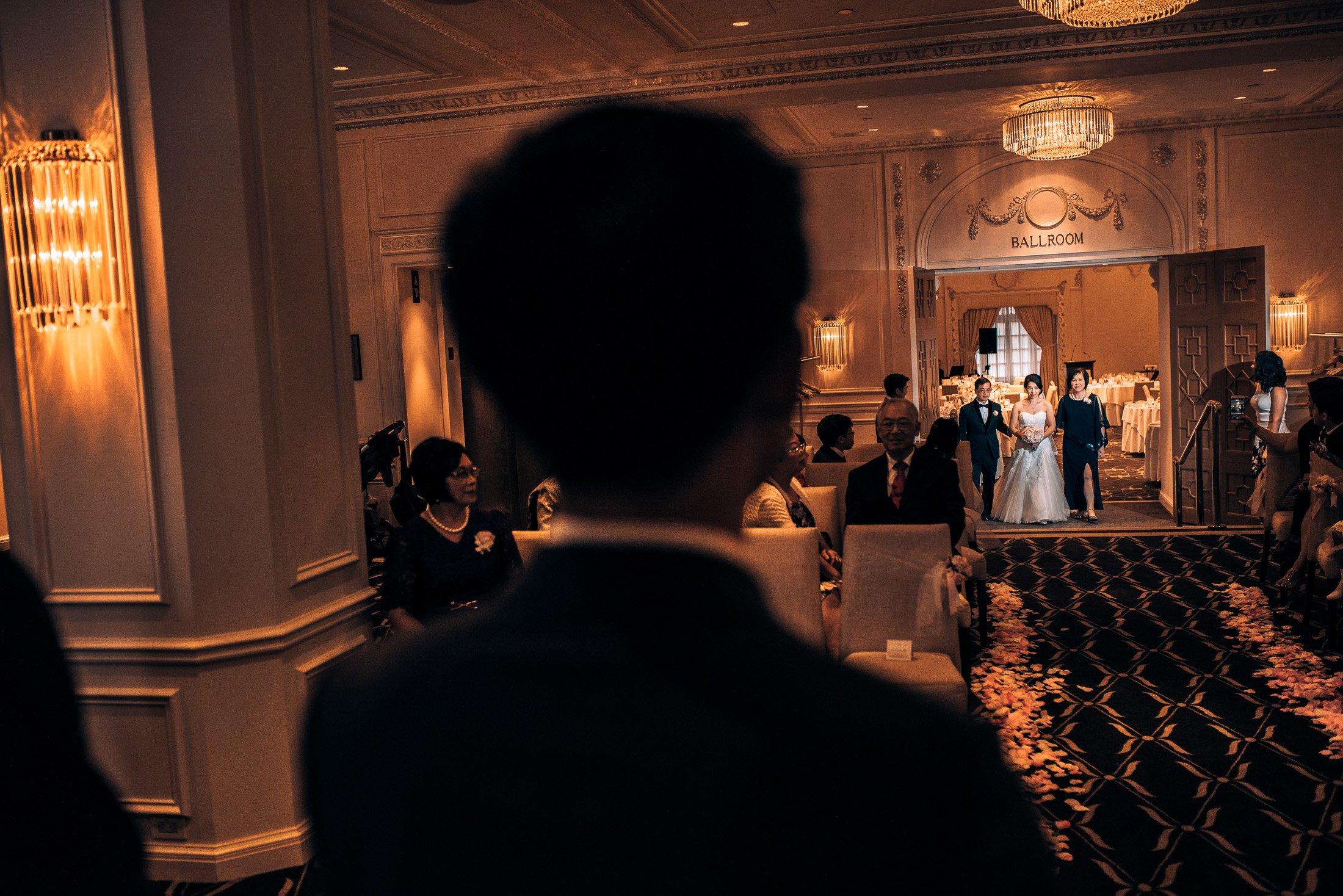 008 Rosewood Hotel Georgia indoor ceremony