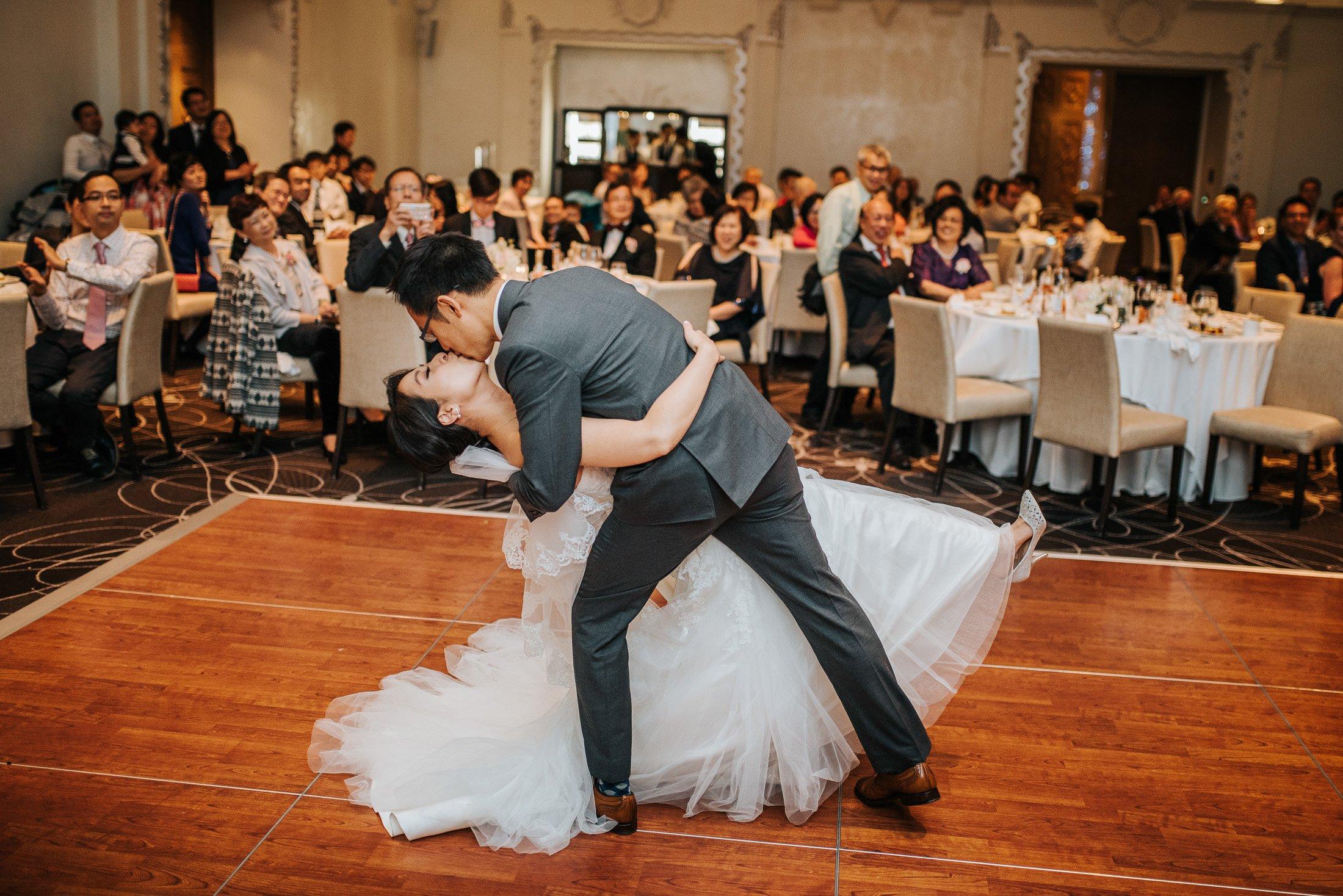014 Rosewood Hotel Georgia first dance