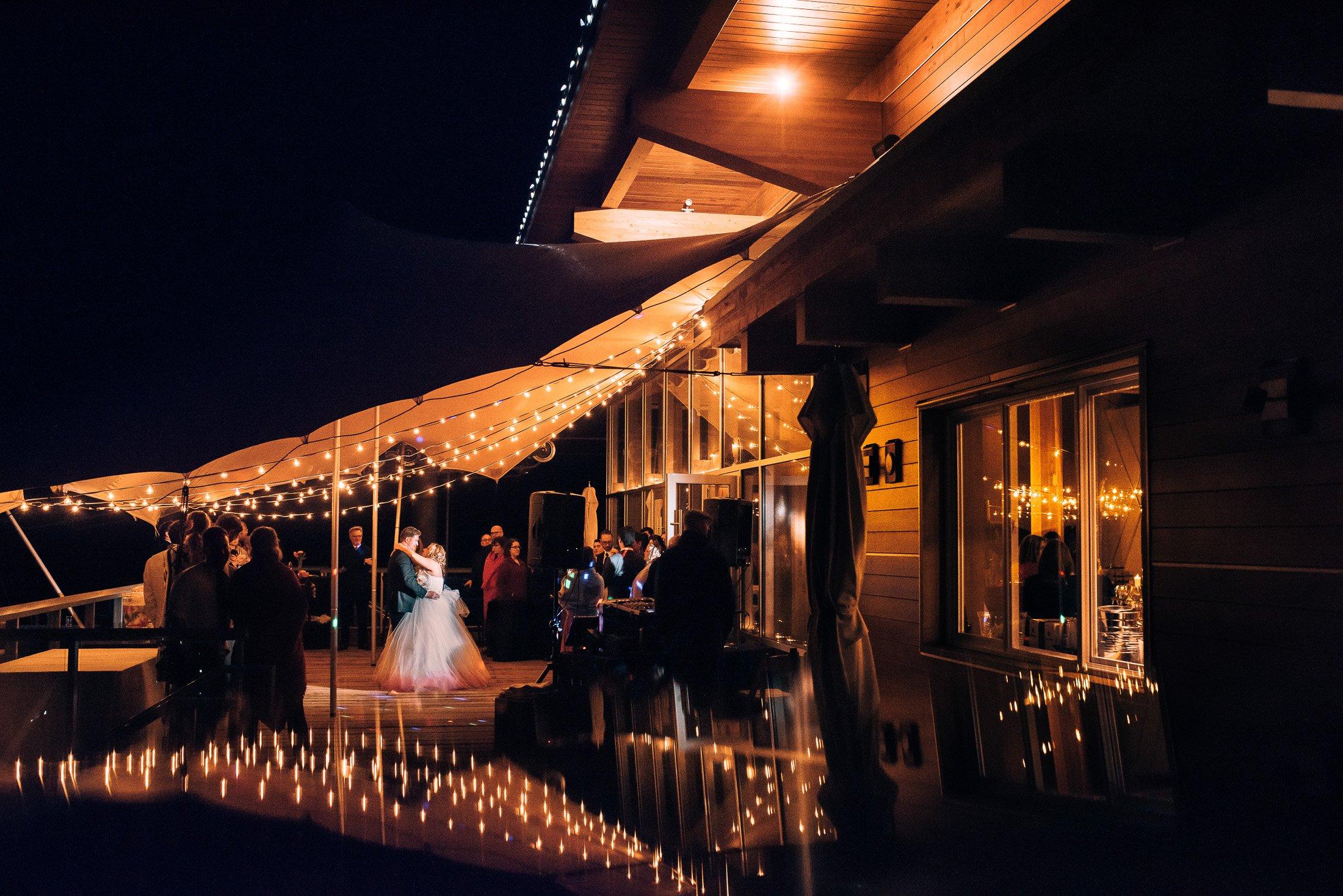 wedding reception sea to sky gondola