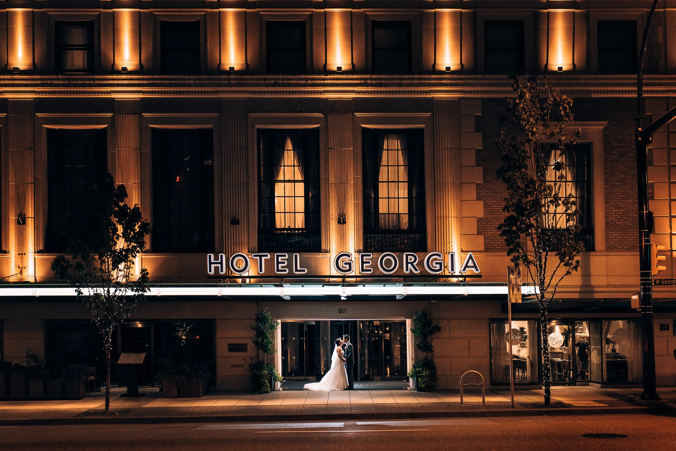 019 night photo Rosewood Hotel Georgia