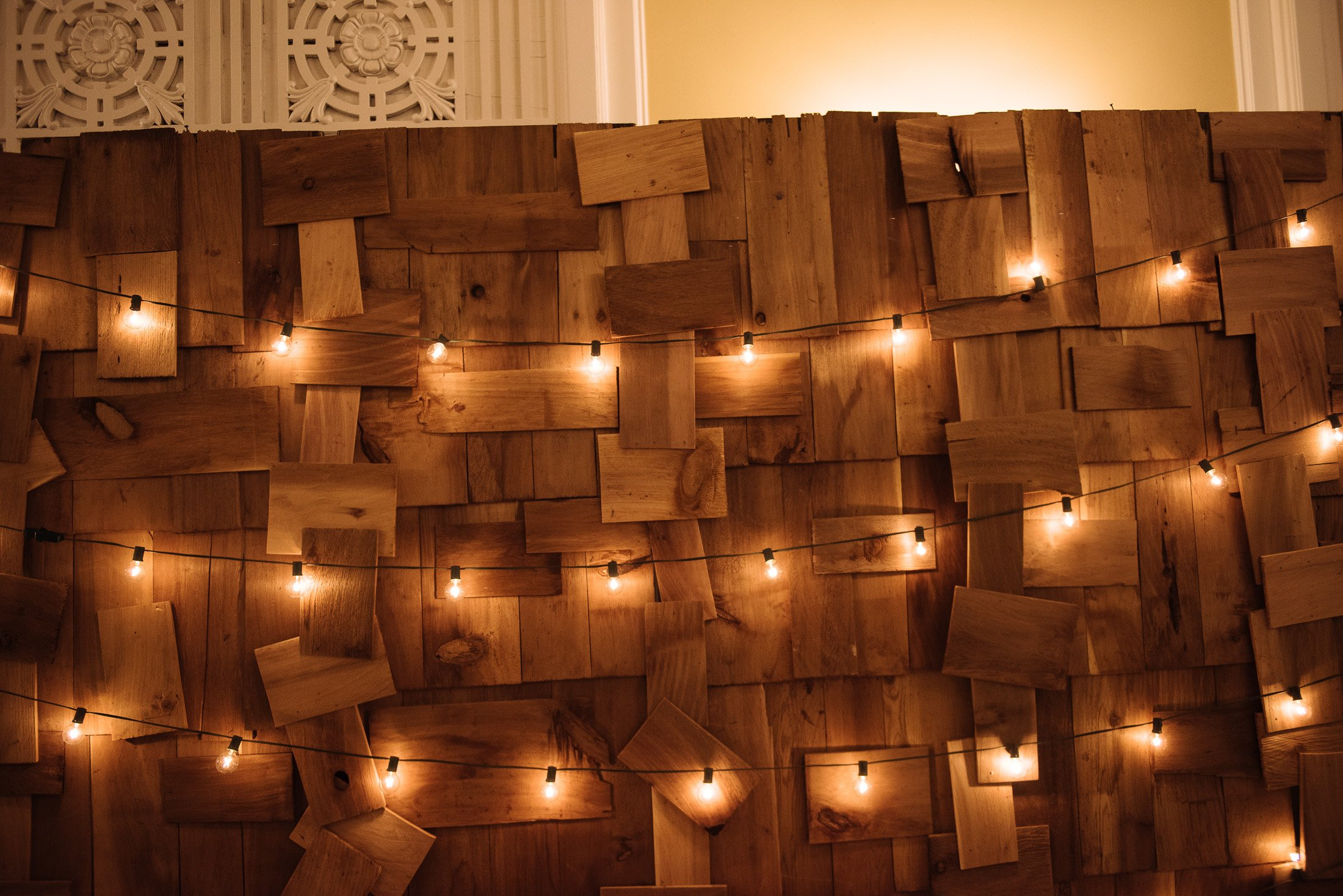 Rustic Indoor String Lights : Wedding lighting ideas Pursell photography inc Vancouver