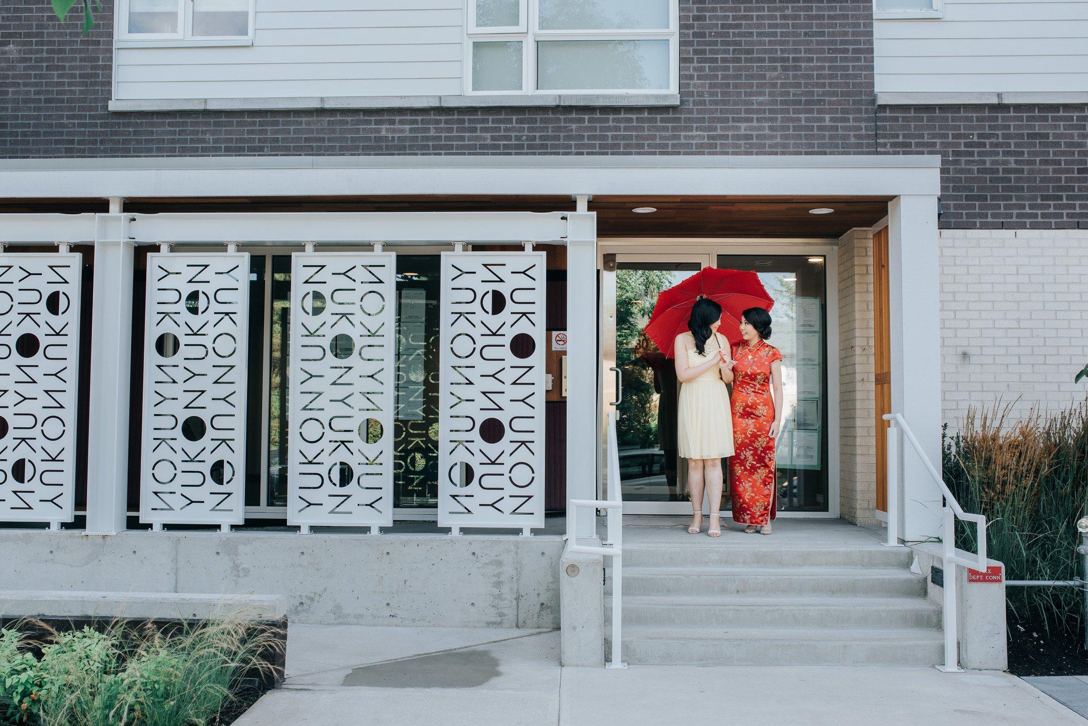 012 - red umbrella Chinese wedding