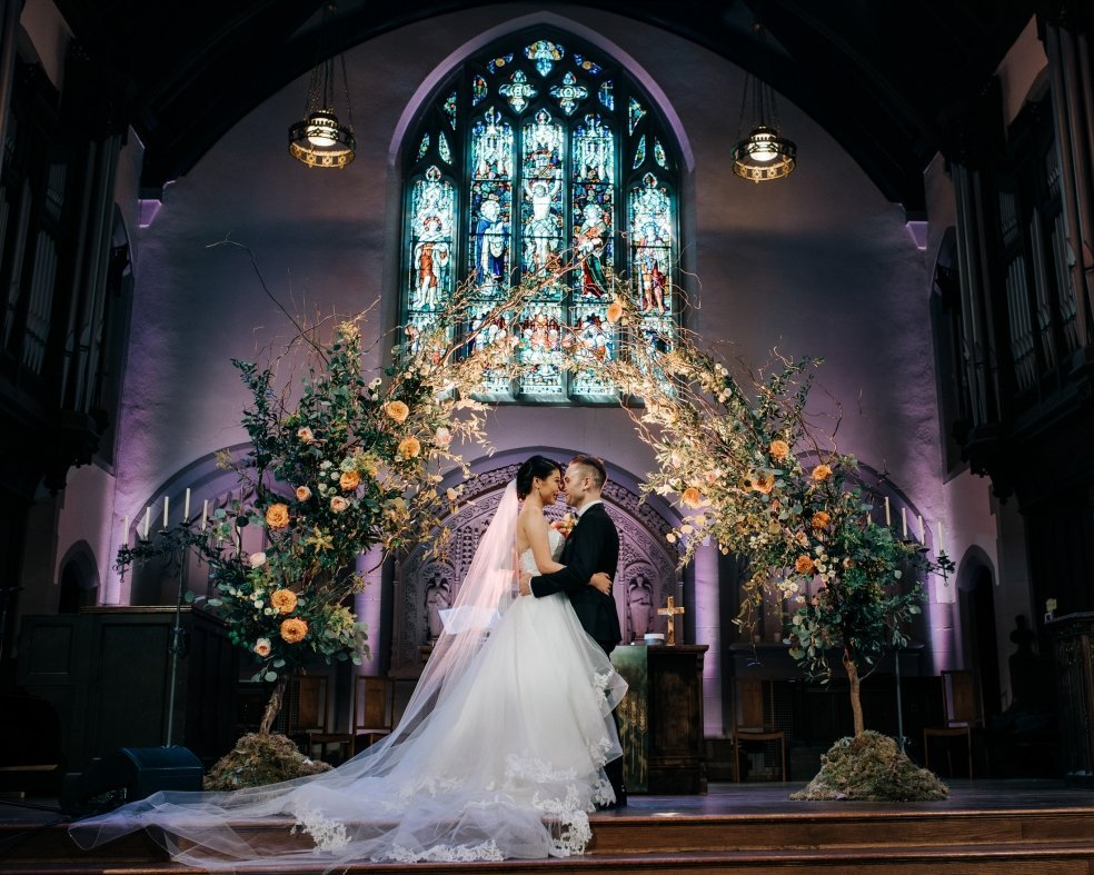 033 - wedding portraits at canadian memorial church vancouver