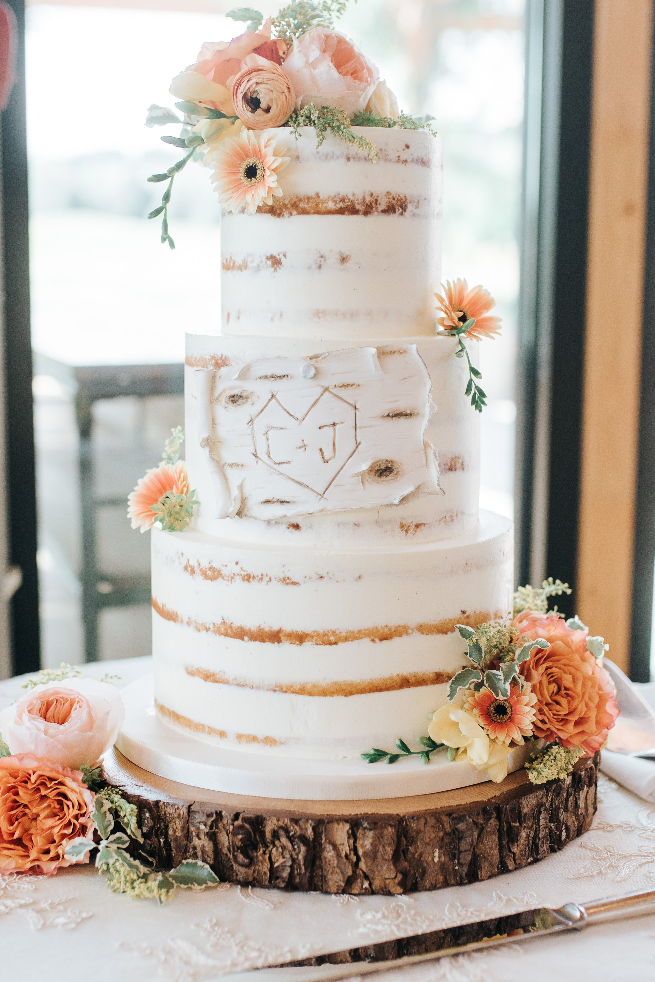 047 - nature wedding cake