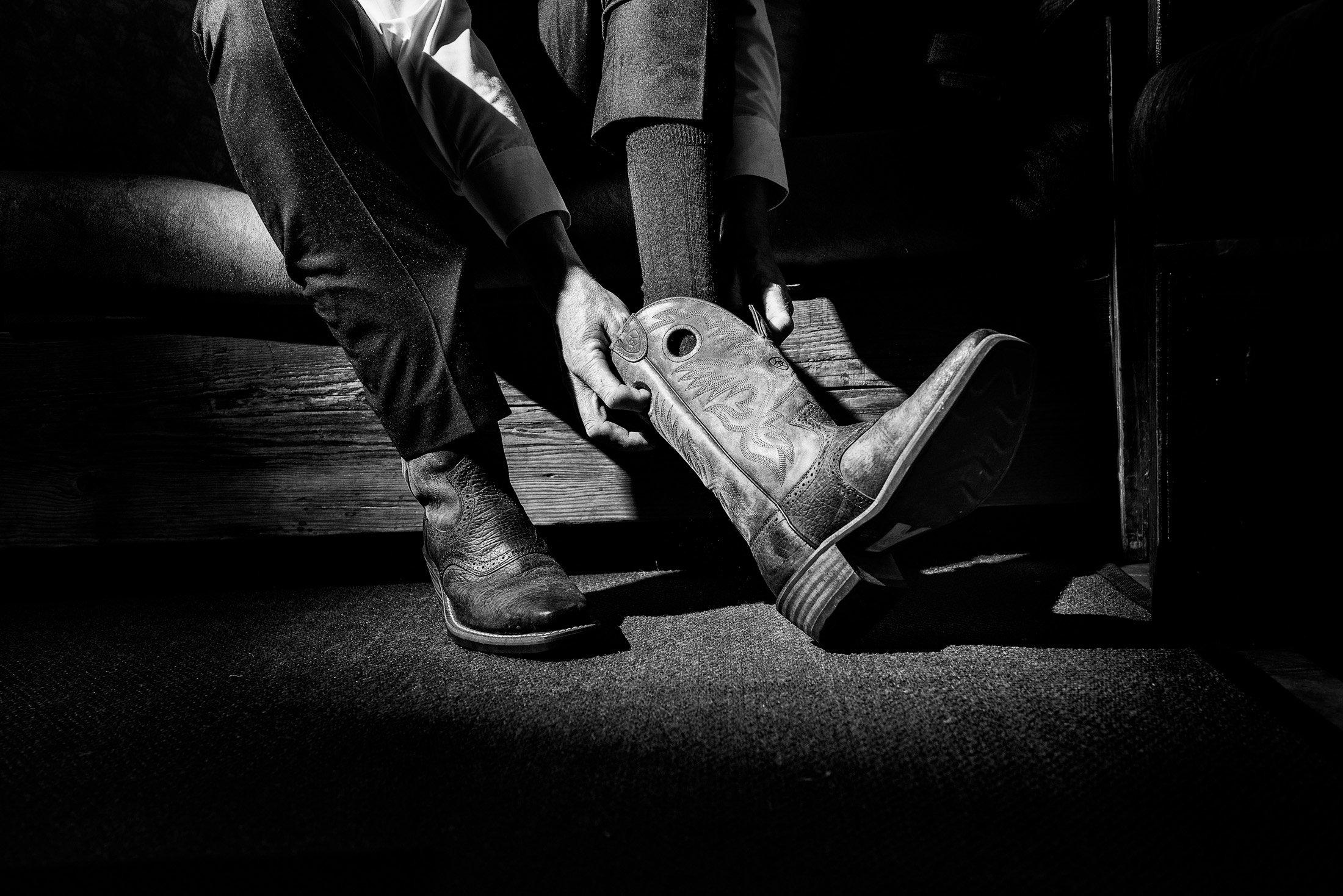 001 cowboy boots wedding