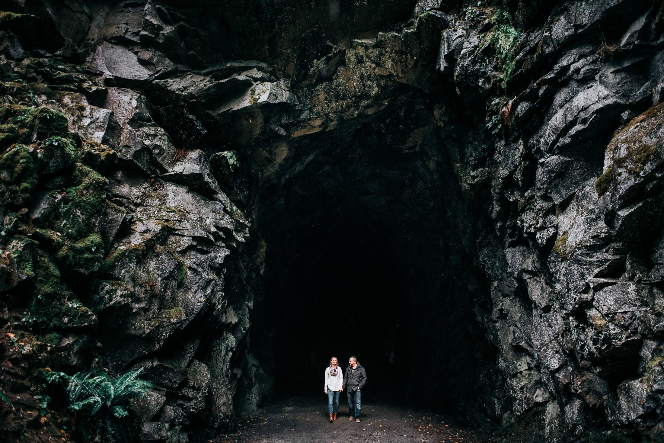 008 Coquihalla Canyon tunnels engagement photos