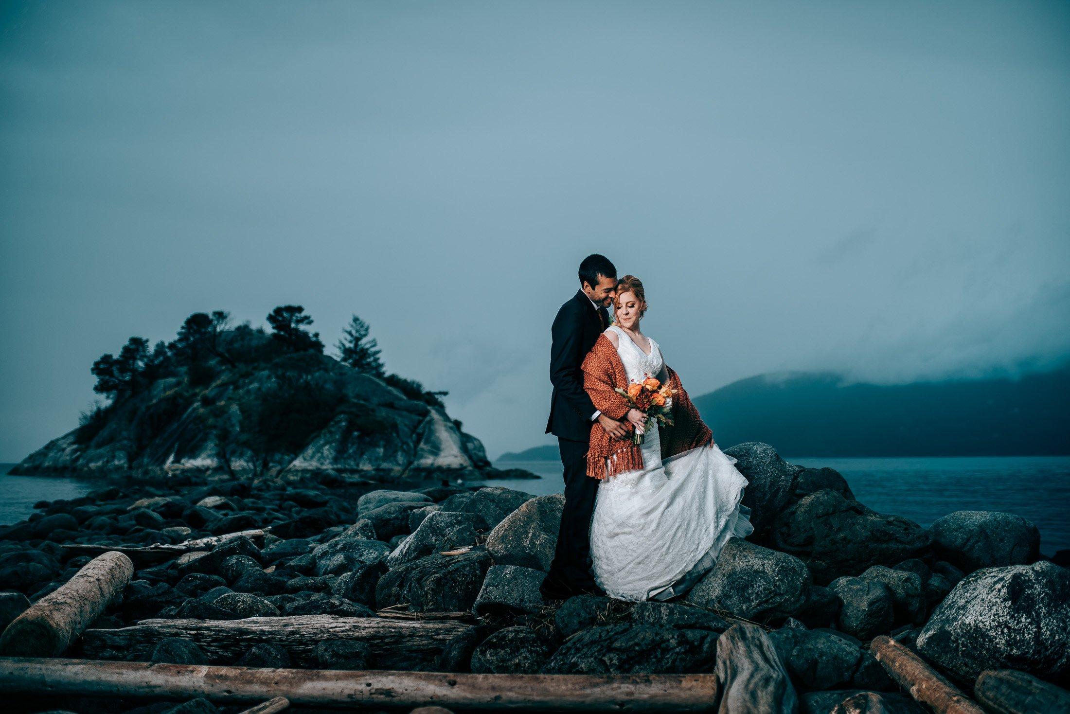 whytecliff park wedding