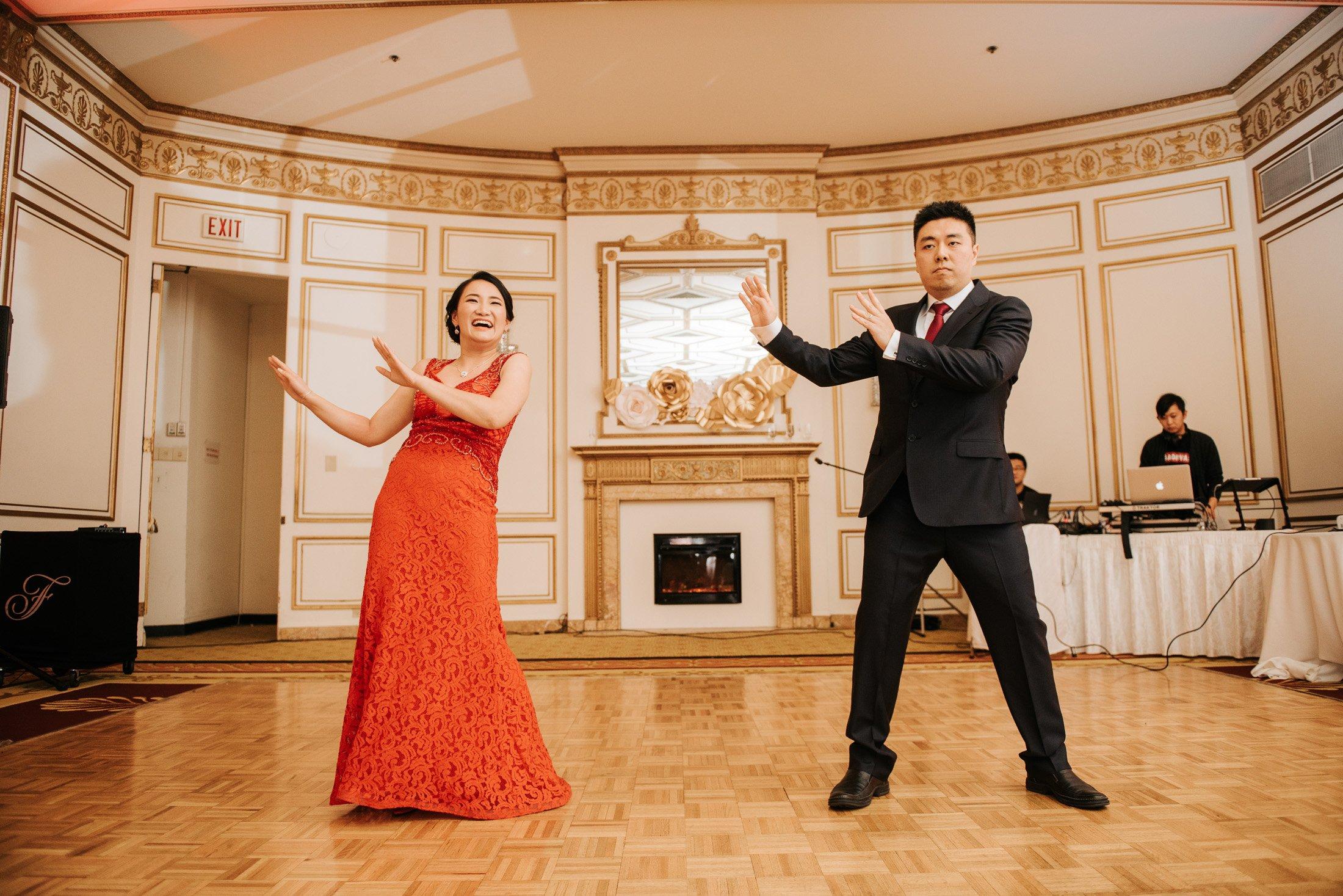 Fairmont Hotel Vancouver dance