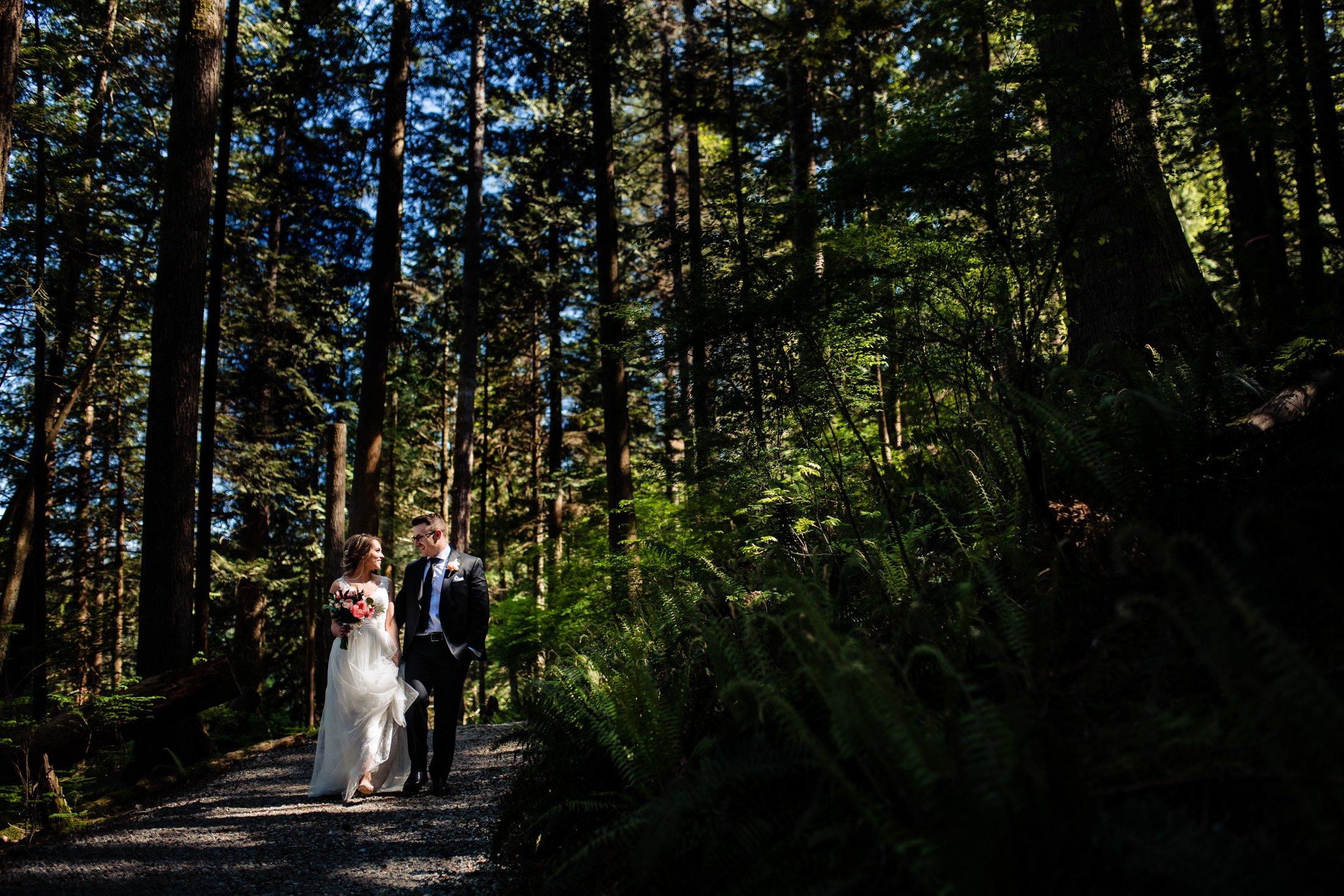 009 - forest wedding coquitlam