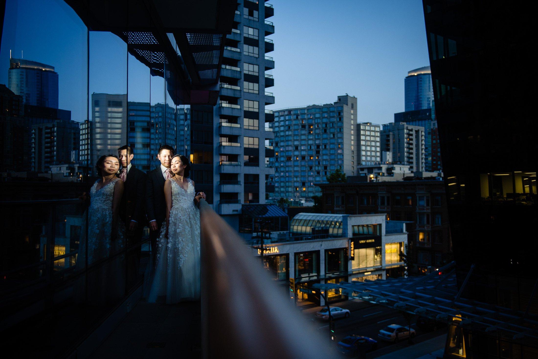 022 - night photos downtown vancouver shangri-la