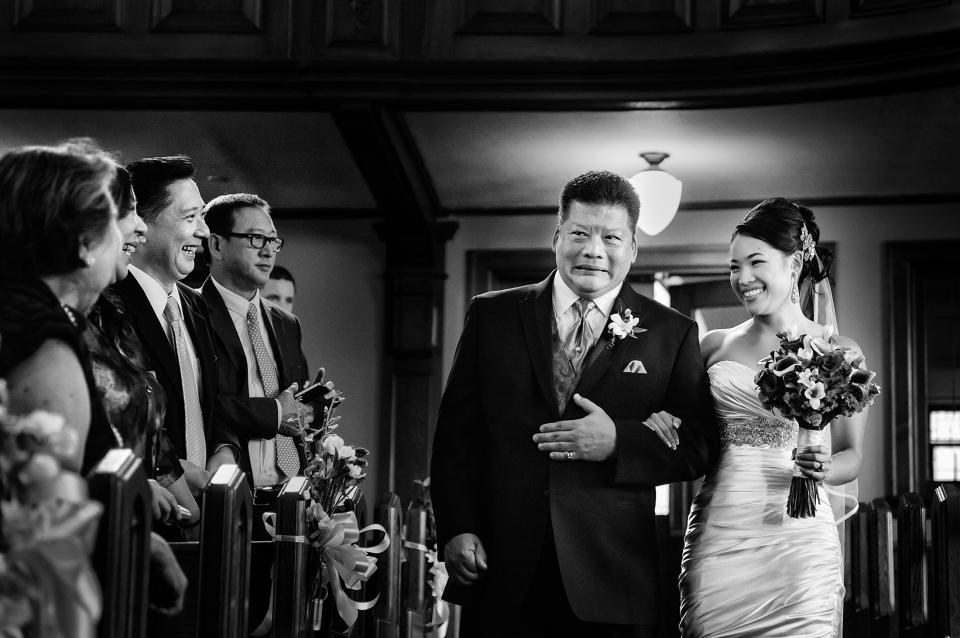 004 - dad cry down church wedding