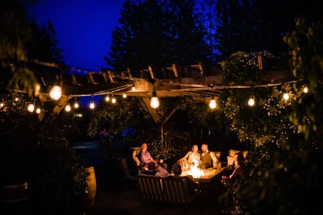 033 - night wedding photos