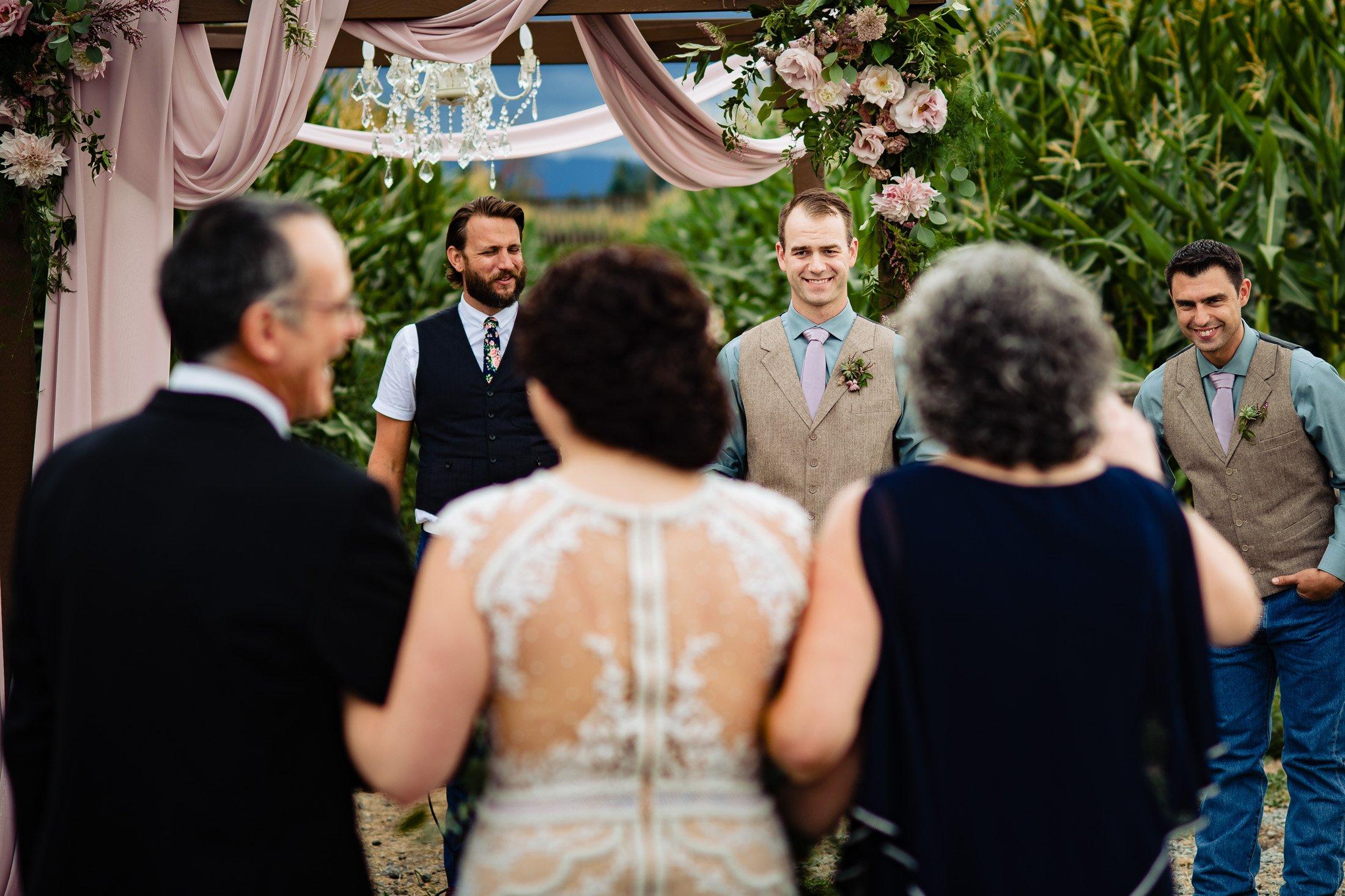 006 - outdoor wedding ceremony vancouver