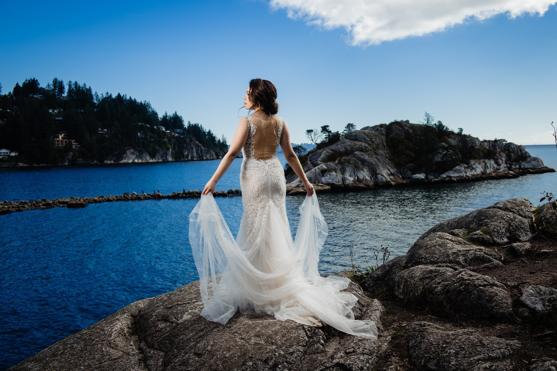 014 - whytecliff park wedding photo cliff