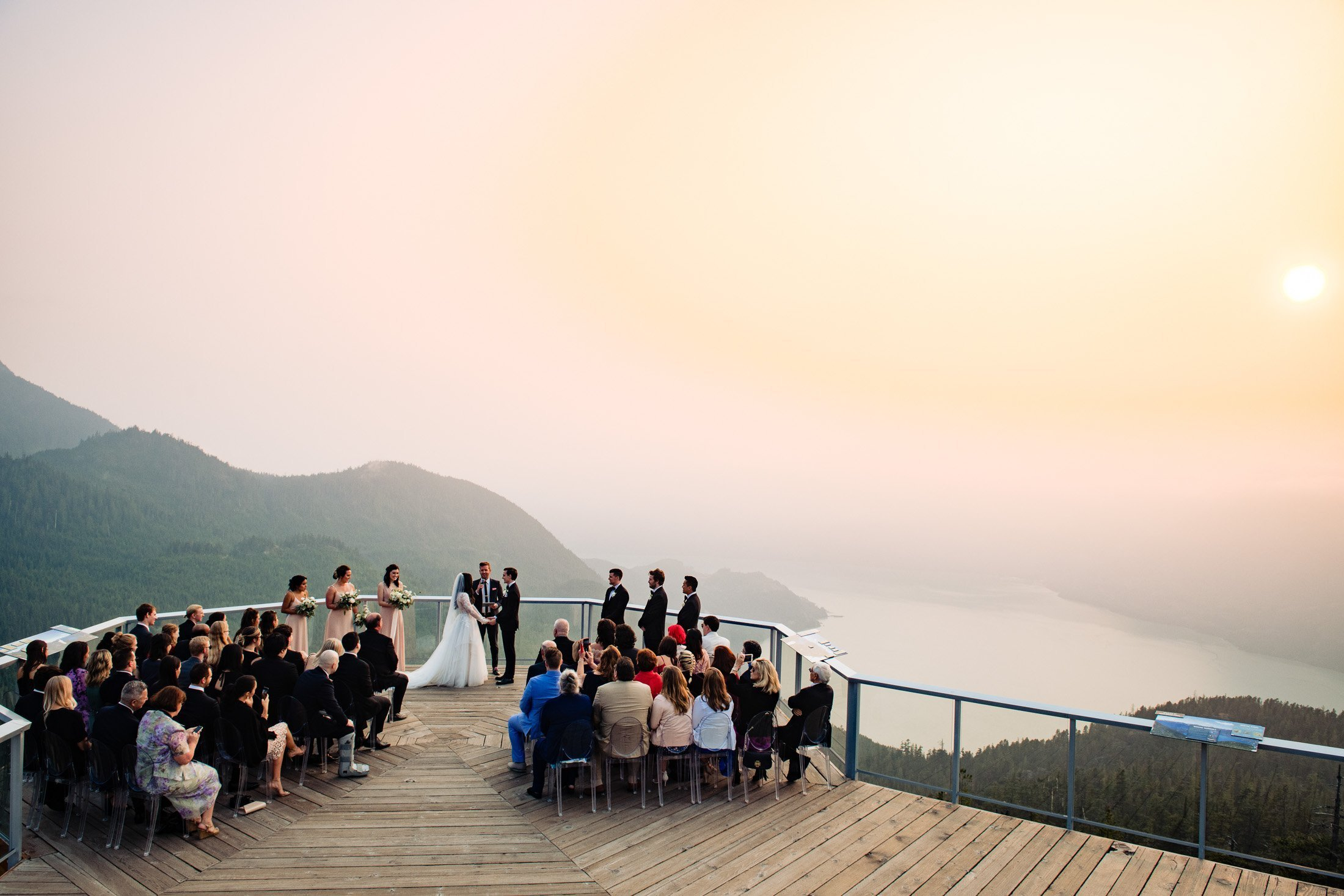 018 - outdoor mountain top ceremony vancouver