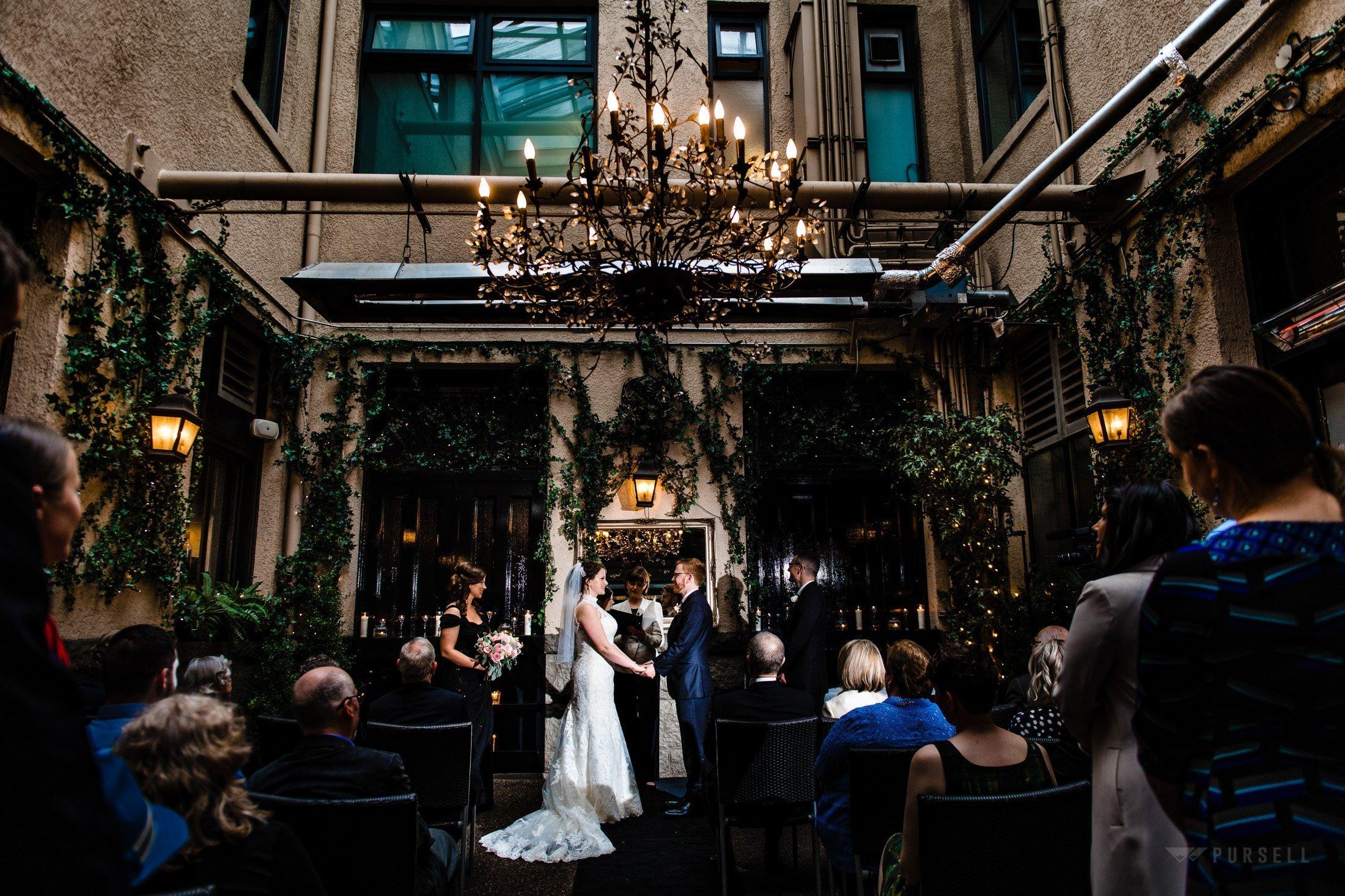 025 - wedding ceremony brix and mortar wedding