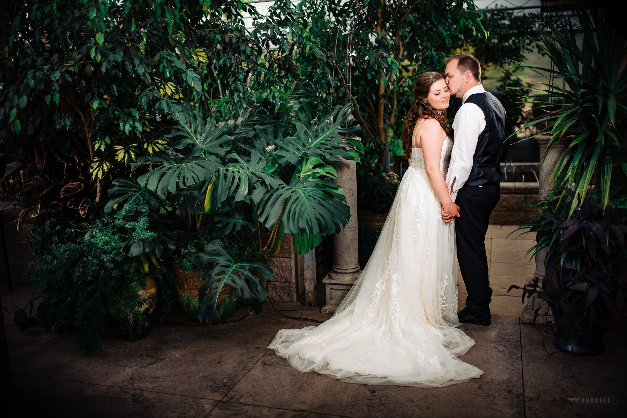 030 - fraser valley greenhouse wedding photo