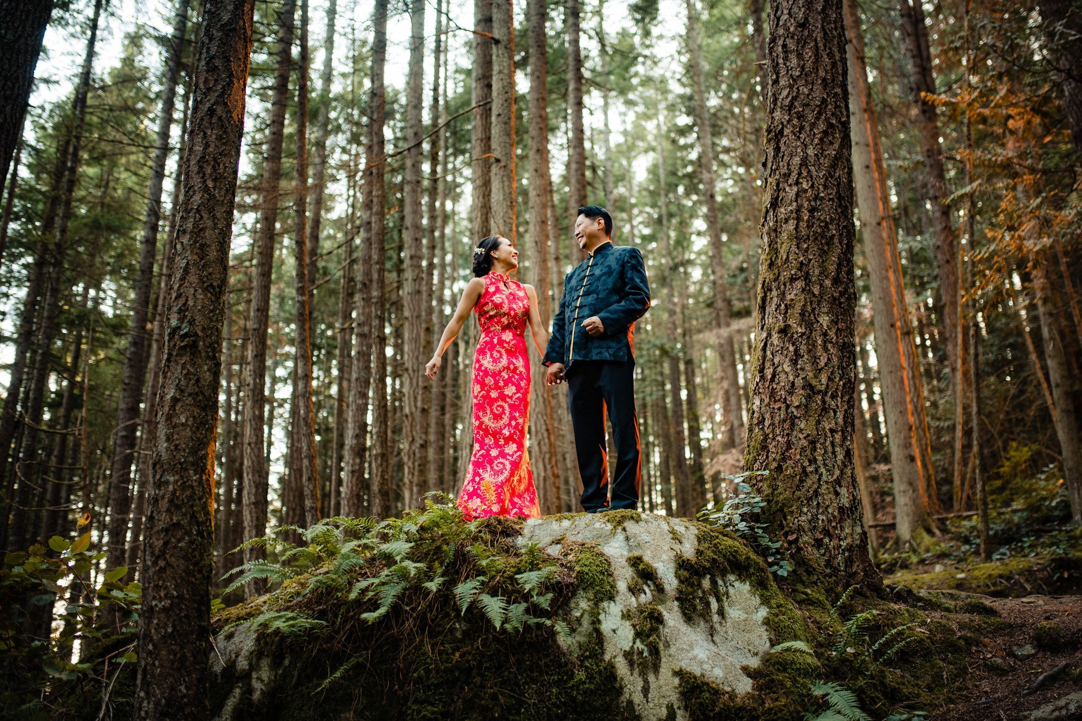 030 - wedding photos forest vancouver