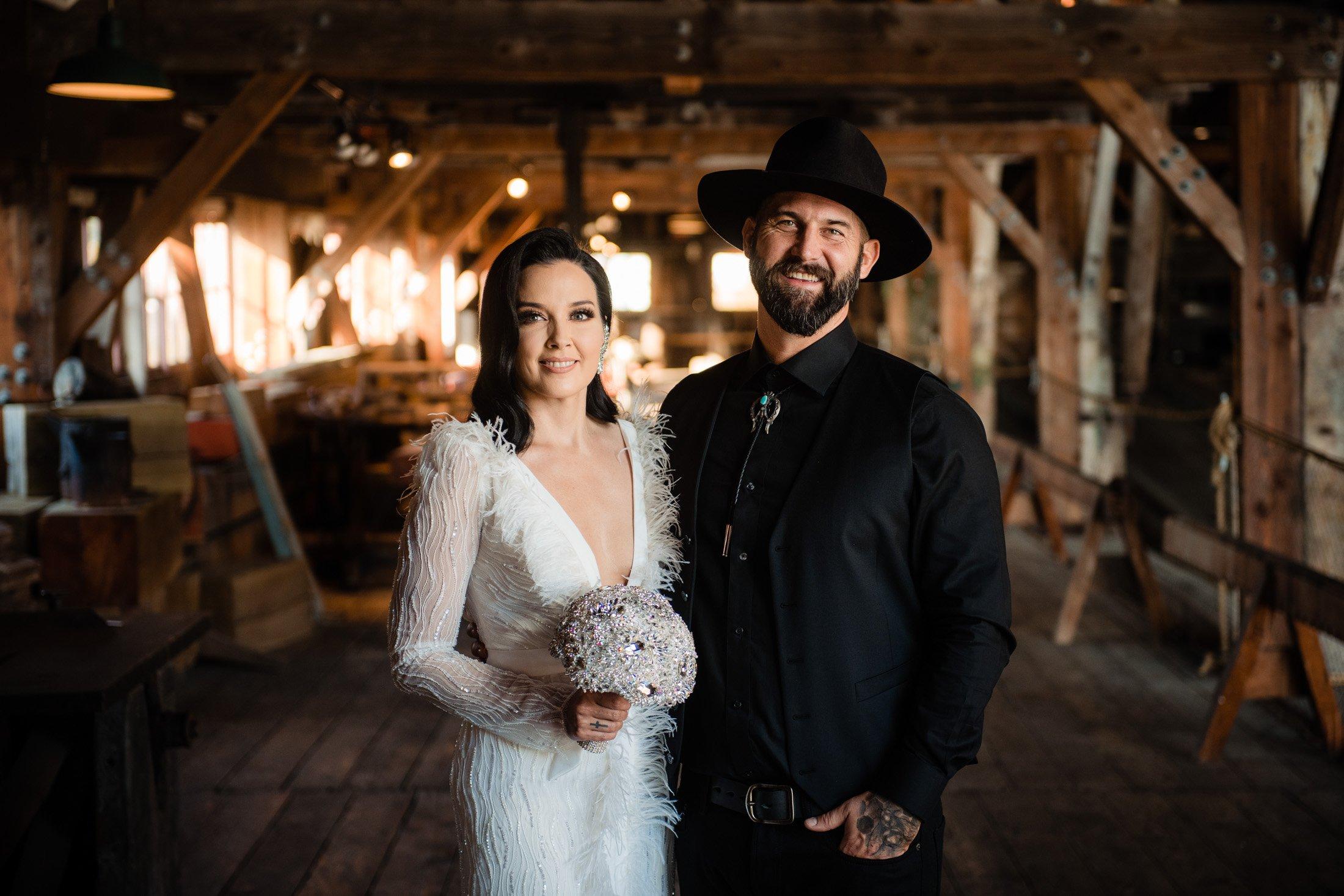 013 - alternative bride and groom