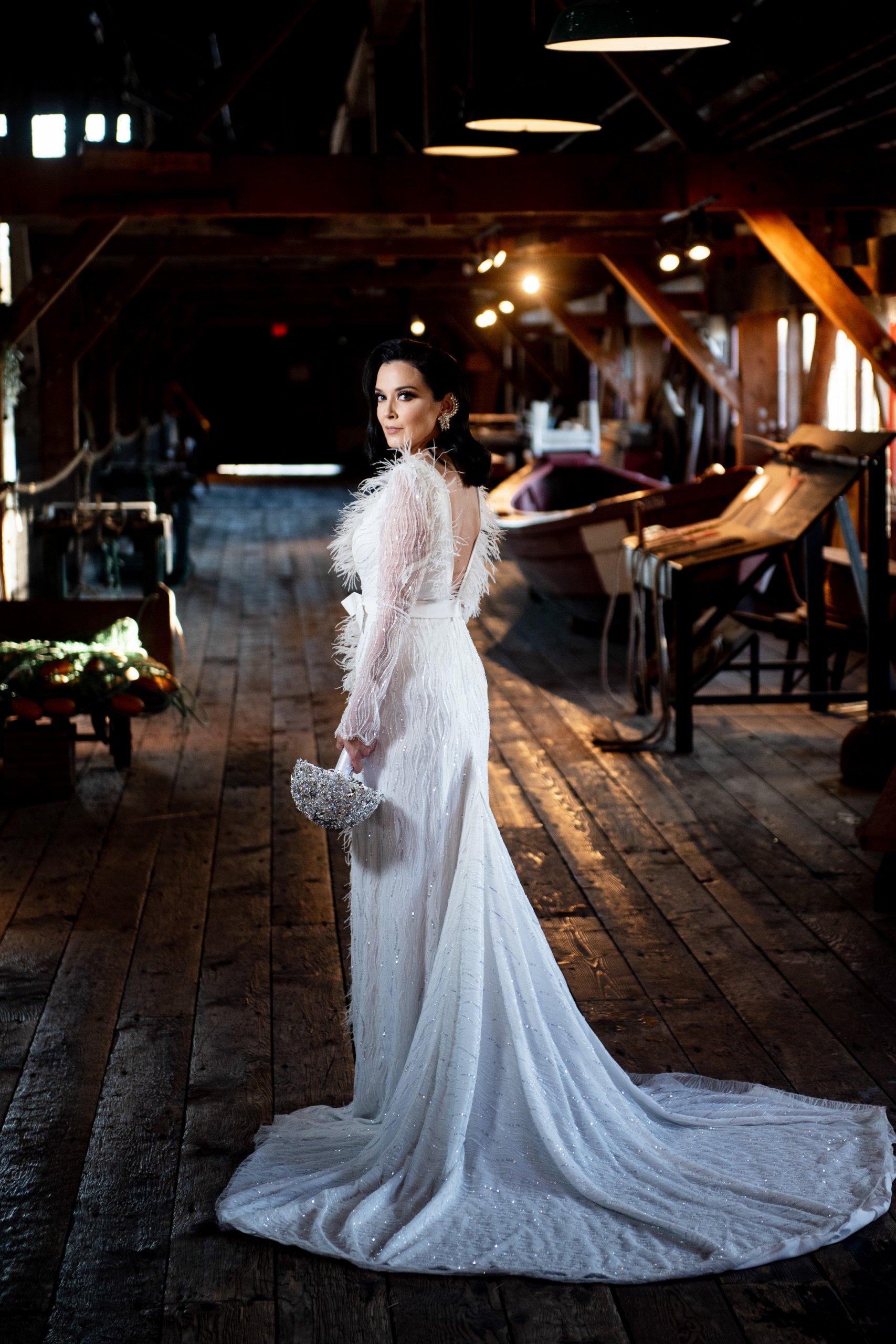 022 - amazing rock and roll wedding dress
