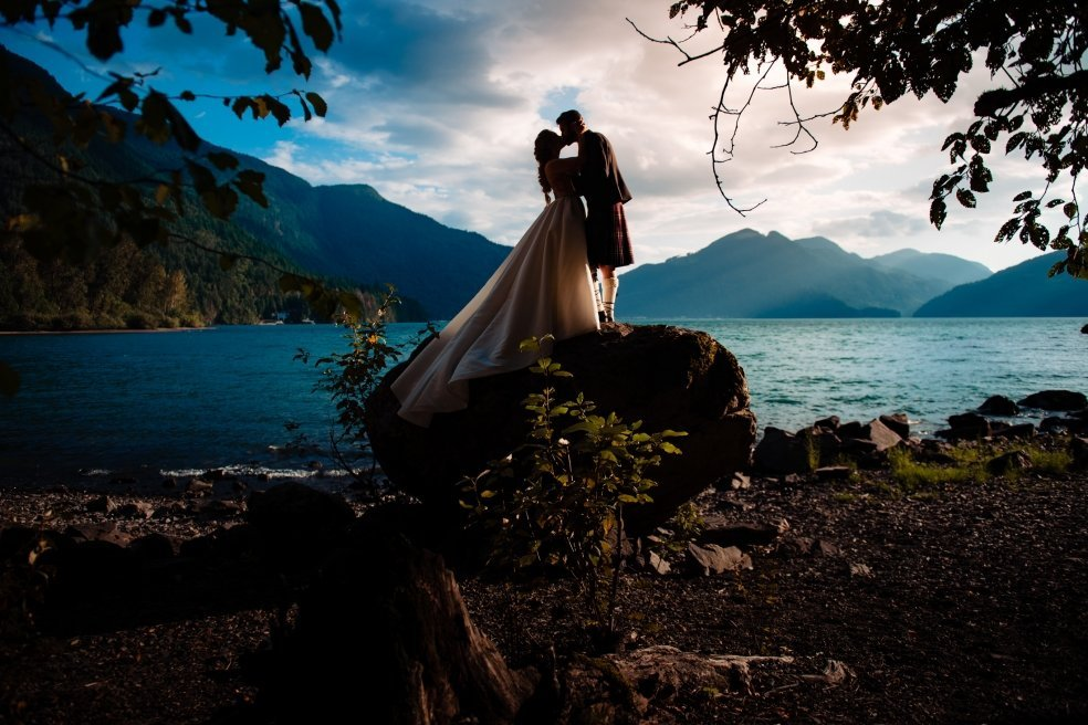 025 - harrison hotsprings wedding photo
