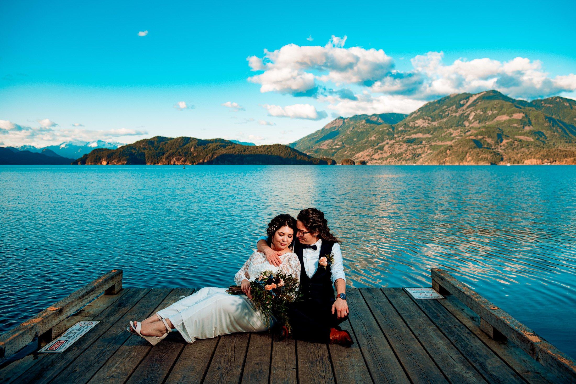 025 - wedding photos harrison hotsprings