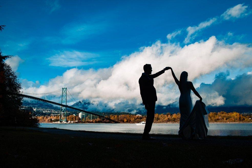 032 - wedding lionsgate bridge vancouver