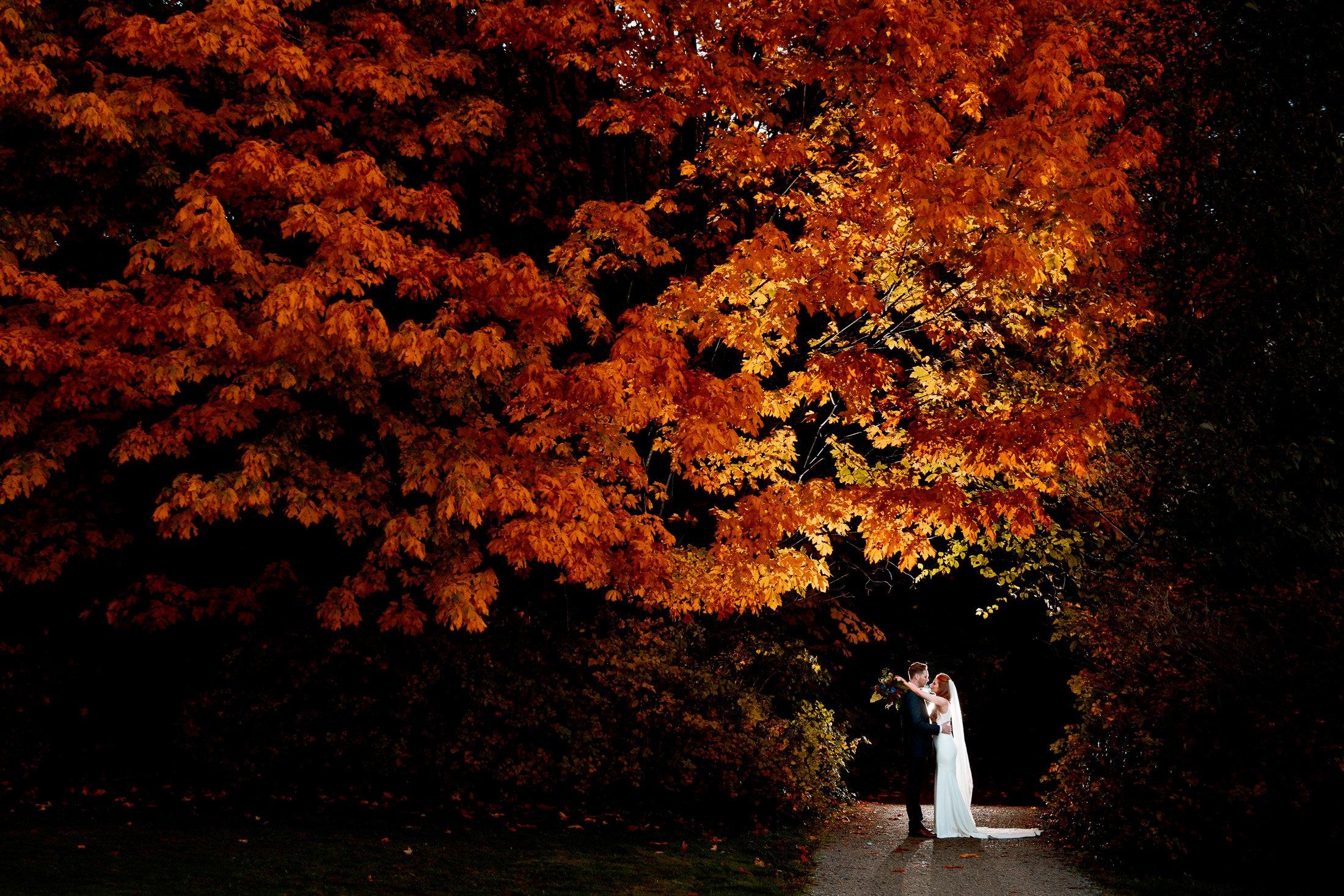 034 - fall wedding photos vancouver