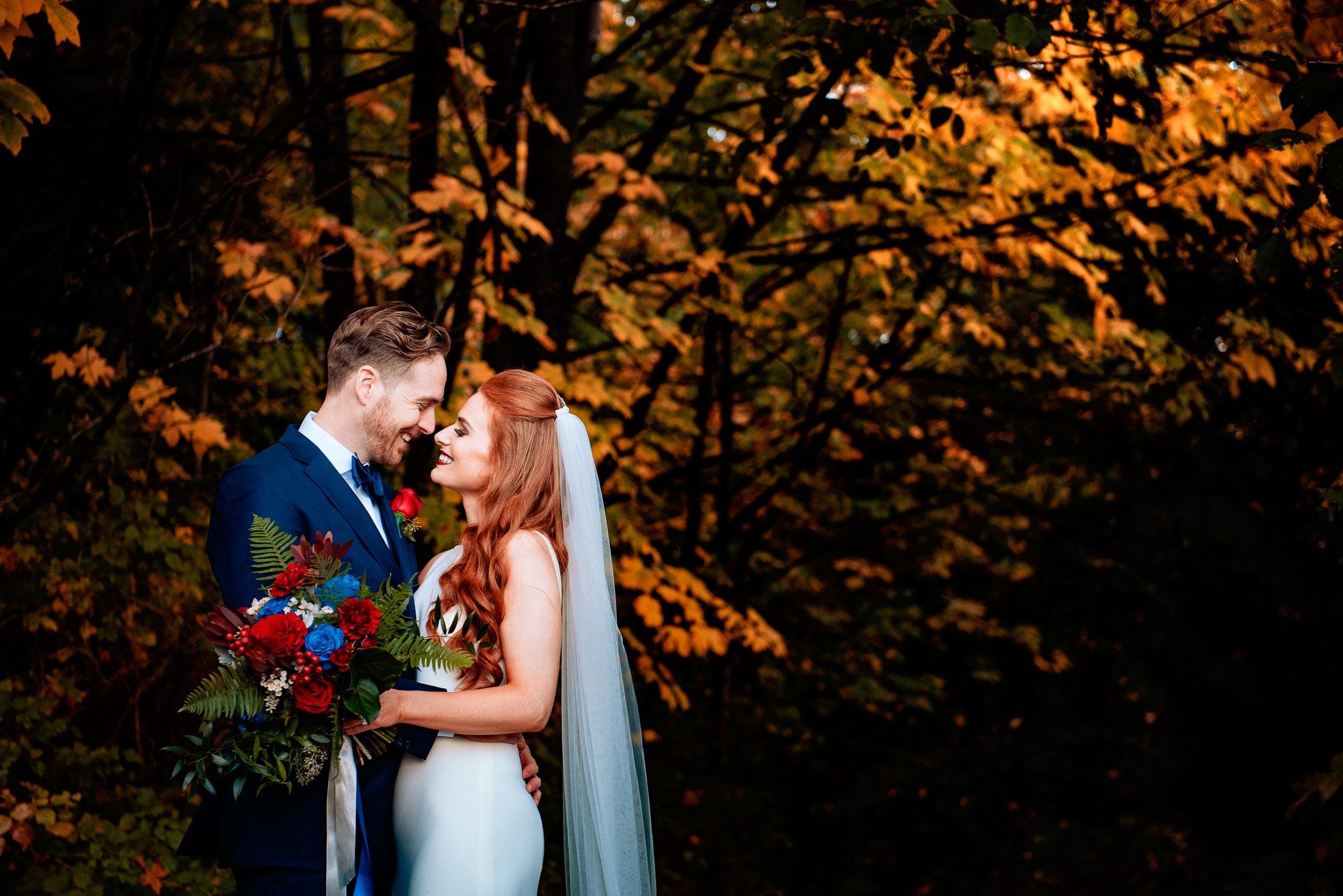 035 - autumn wedding photos vancouver