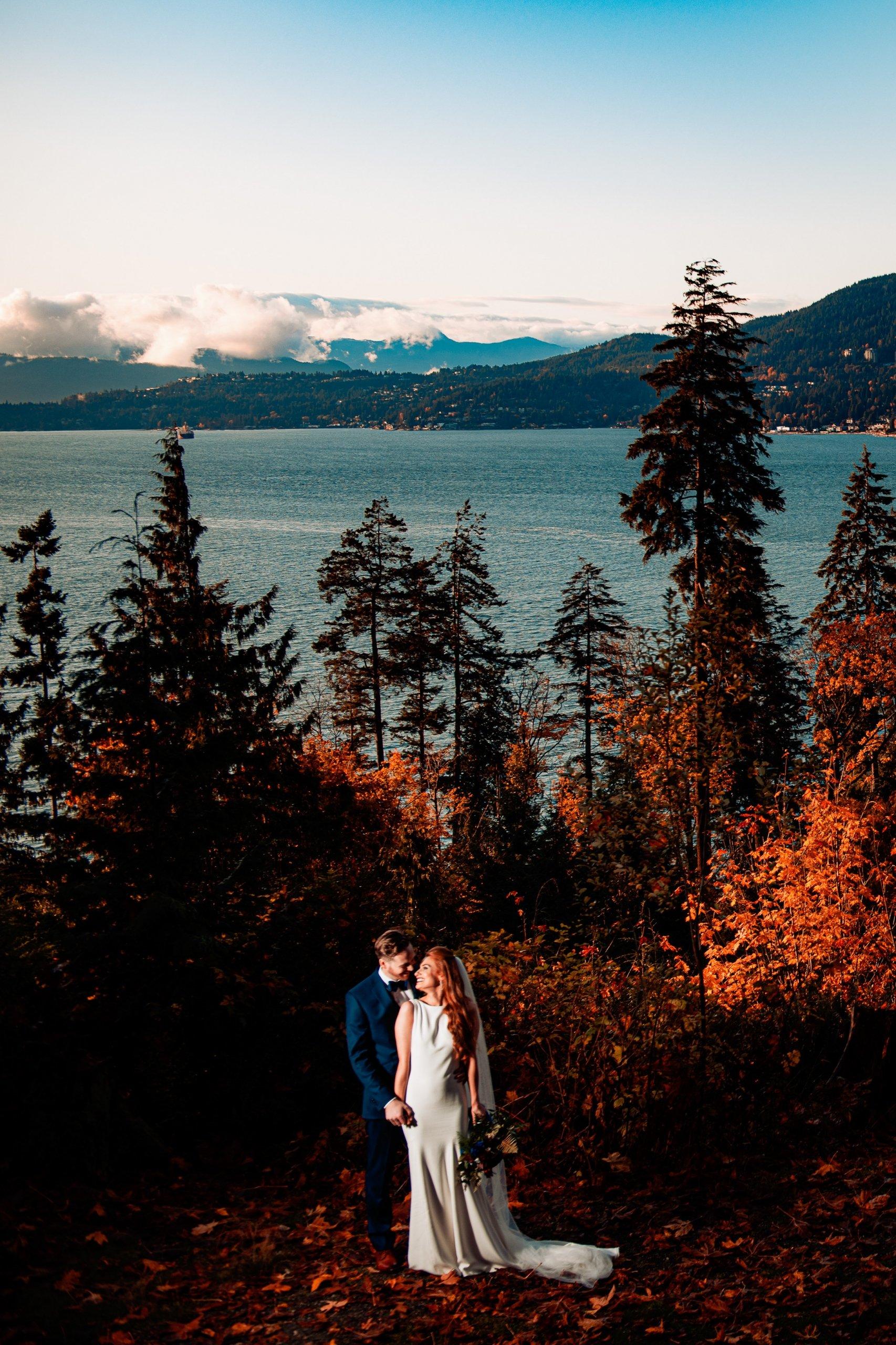 041 - vancouver ocean forest wedding photos