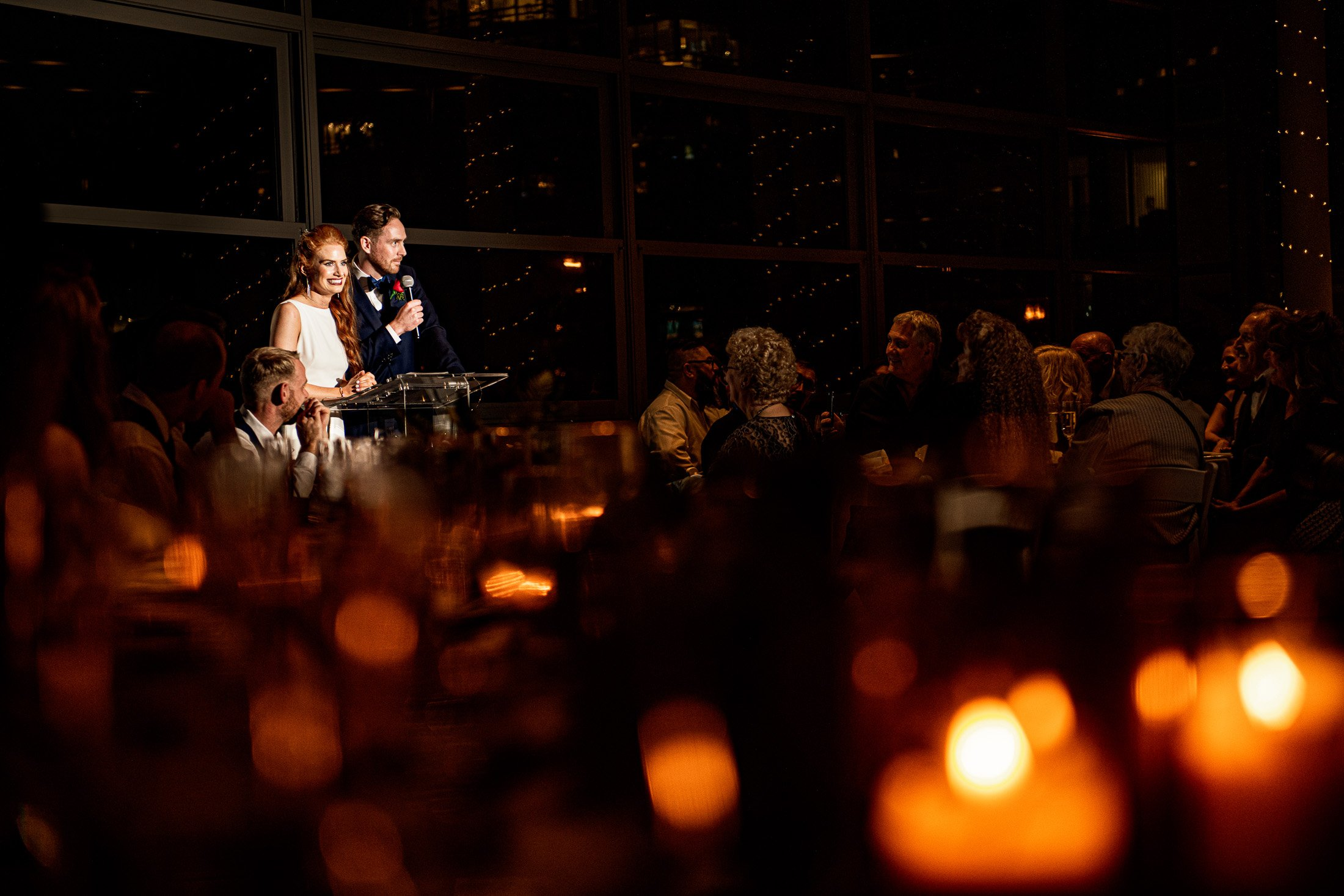 051 - candelit wedding waterview event space