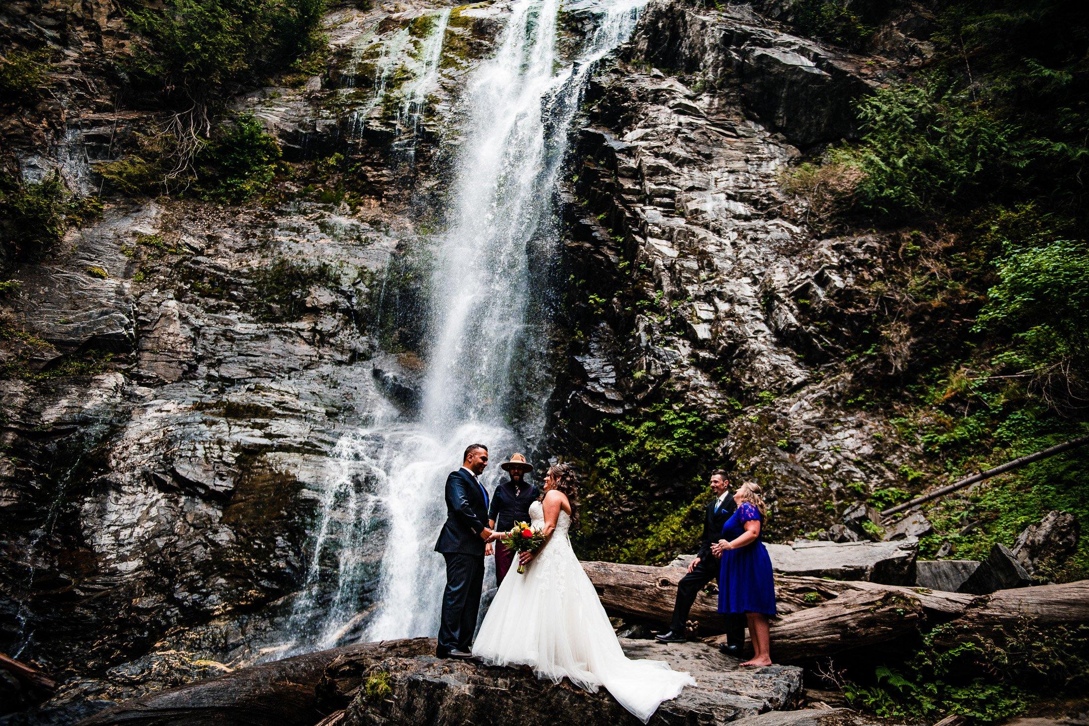 002 - waterfall elopement
