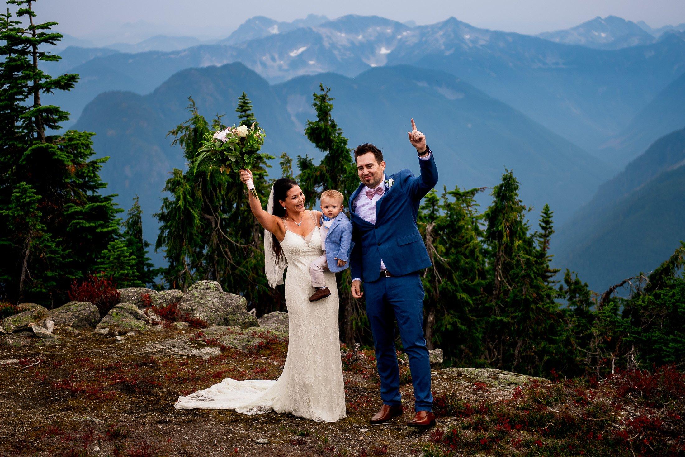005 - helicopter mountain wedding