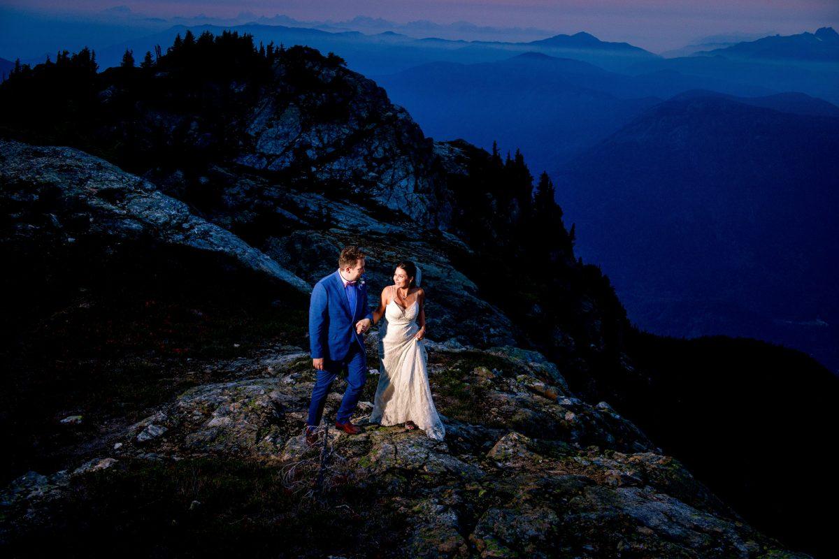 009 - mountain top elopement