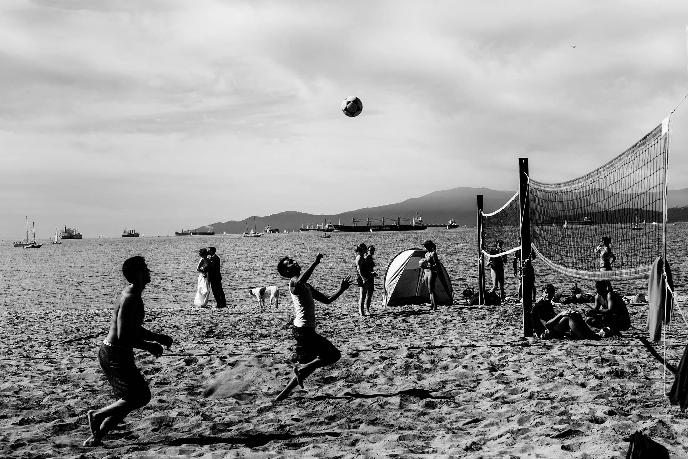 kitilano beach wedding